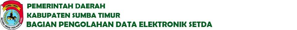 Website Resmi PDE Setda Kabupaten Sumba Timur